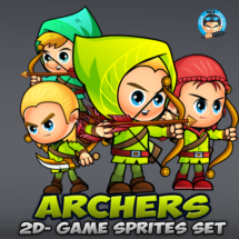 Archers_2D_Game_Character_Sprite_Sheets